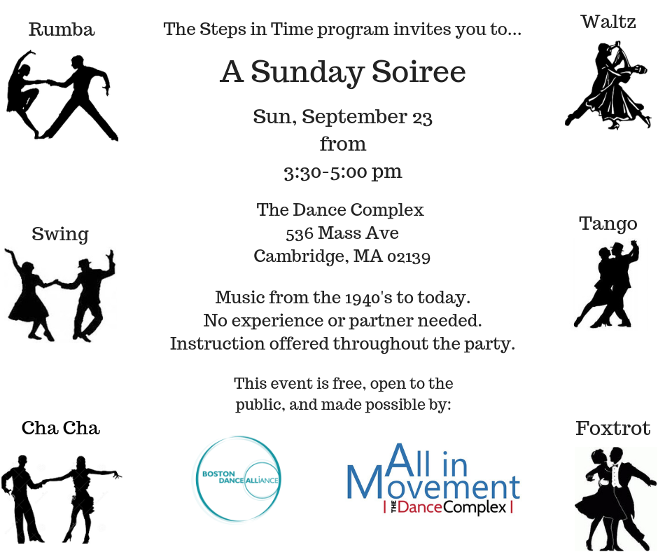 A Sunday Soiree The Dance Complex